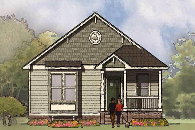 Architectural House Design - Bungalow Exterior - Front Elevation Plan #936-30