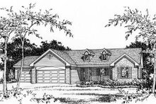 Architectural House Design - Ranch Photo Plan #22-468
