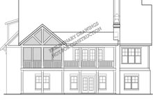 Farmhouse Exterior - Rear Elevation Plan #927-1001