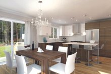 Architectural House Design - Ranch Interior - Dining Room Plan #23-2656