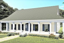Home Plan - Southern Exterior - Front Elevation Plan #44-237
