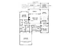 Cottage Floor Plan - Main Floor Plan Plan #929-23