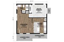Ranch Floor Plan - Main Floor Plan Plan #1077-6