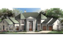 Classical Exterior - Front Elevation Plan #119-111