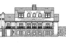 Dream House Plan - Craftsman Exterior - Rear Elevation Plan #119-248