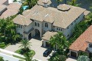 Mediterranean Style House Plan - 5 Beds 5.5 Baths 5547 Sq/Ft Plan #420-171