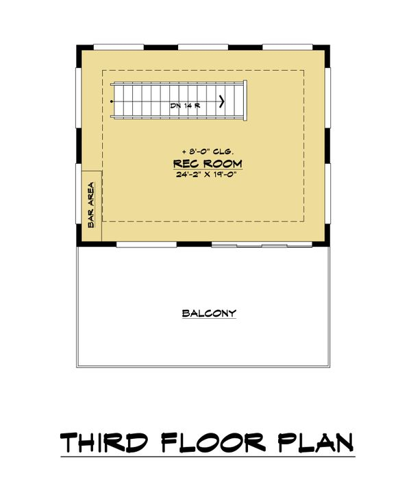 Dream House Plan - Contemporary Floor Plan - Other Floor Plan #1066-113