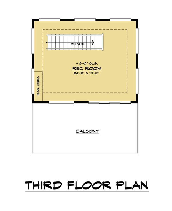 Contemporary Floor Plan - Other Floor Plan #1066-113