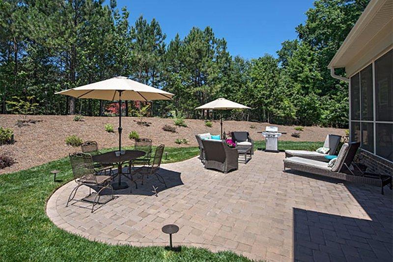 Craftsman Exterior - Outdoor Living Plan #929-7 - Houseplans.com