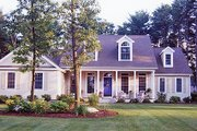 Southern Style House Plan - 4 Beds 3 Baths 2567 Sq/Ft Plan #456-4 Exterior - Other Elevation