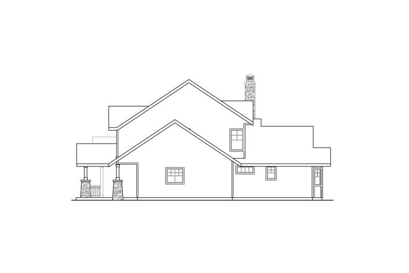 Craftsman Exterior - Other Elevation Plan #124-680 - Houseplans.com