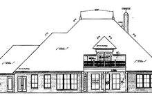 Dream House Plan - European Exterior - Rear Elevation Plan #310-680