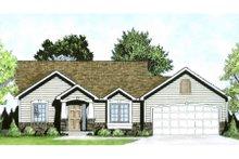 Home Plan - Craftsman Exterior - Front Elevation Plan #58-185