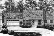 Southern Style House Plan - 3 Beds 2 Baths 1091 Sq/Ft Plan #40-344
