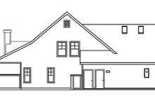 Traditional Exterior - Other Elevation Plan #124-365