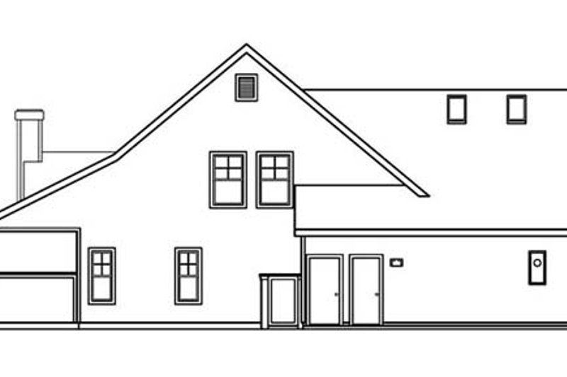 Traditional Exterior - Other Elevation Plan #124-365 - Houseplans.com