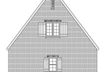 Country Exterior - Rear Elevation Plan #932-271