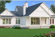 Southern Style House Plan - 3 Beds 2.5 Baths 2150 Sq/Ft Plan #45-600