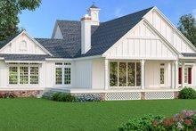 House Blueprint - Southern Exterior - Rear Elevation Plan #45-600