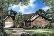 Traditional Style House Plan - 4 Beds 2 Baths 1940 Sq/Ft Plan #17-158 Exterior - Front Elevation