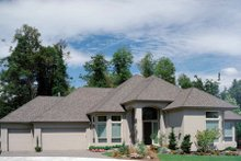 Home Plan - Mediterranean Exterior - Other Elevation Plan #48-295