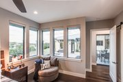 Contemporary Style House Plan - 4 Beds 4 Baths 3349 Sq/Ft Plan #935-14 Interior - Master Bedroom