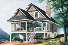 Farmhouse Exterior - Front Elevation Plan #23-495