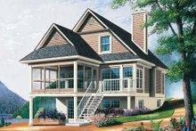House Plan Design - Farmhouse Exterior - Front Elevation Plan #23-495
