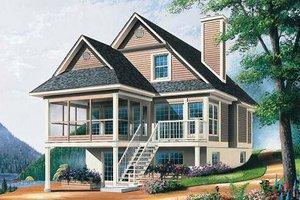 Farmhouse Exterior - Front Elevation Plan #23-495