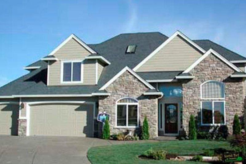 Dream House Plan - European Exterior - Other Elevation Plan #48-337