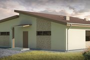 Modern Style House Plan - 3 Beds 1 Baths 1587 Sq/Ft Plan #906-26 Photo
