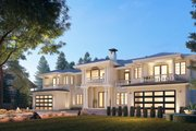 Mediterranean Style House Plan - 10 Beds 9.5 Baths 9358 Sq/Ft Plan #1066-124 Exterior - Other Elevation