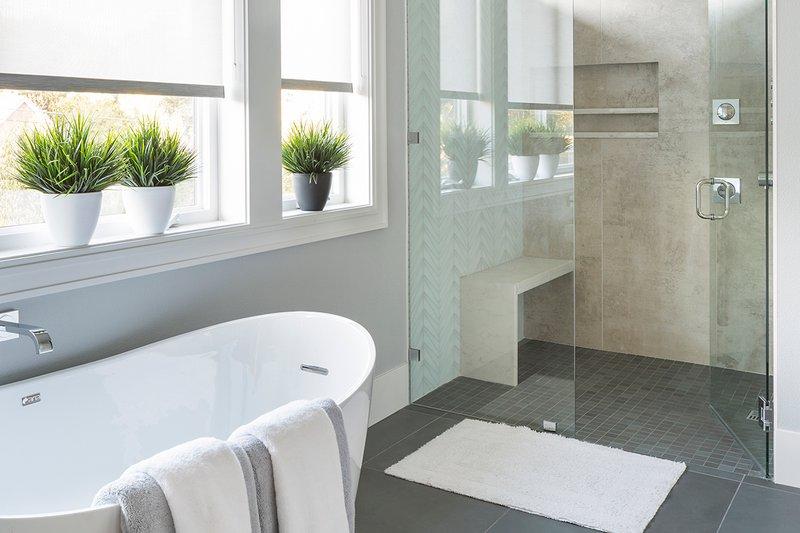 Contemporary Interior - Master Bathroom Plan #48-651 - Houseplans.com
