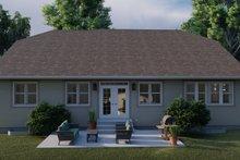 House Plan Design - Ranch Exterior - Rear Elevation Plan #1060-101
