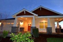House Plan Design - Craftsman Exterior - Front Elevation Plan #124-1211