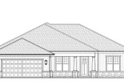 Craftsman Style House Plan - 3 Beds 2.5 Baths 2138 Sq/Ft Plan #938-100 Exterior - Front Elevation