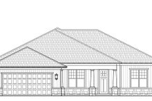 Architectural House Design - Craftsman Exterior - Front Elevation Plan #938-100