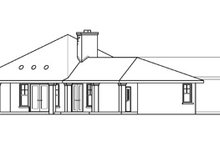 Ranch Exterior - Other Elevation Plan #124-575