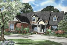 Home Plan - Traditional Exterior - Front Elevation Plan #17-2130