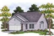 Traditional Style House Plan - 3 Beds 2.5 Baths 2241 Sq/Ft Plan #70-661 Exterior - Front Elevation