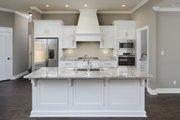 Tudor Style House Plan - 4 Beds 3.5 Baths 2342 Sq/Ft Plan #45-372 Interior - Kitchen