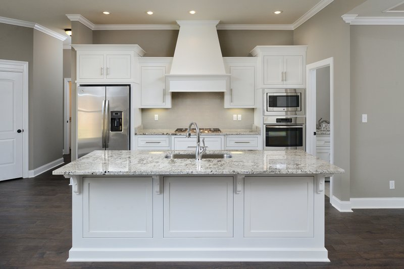 Tudor Interior - Kitchen Plan #45-372 - Houseplans.com