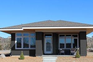 Dream House Plan - Prairie Exterior - Front Elevation Plan #895-119