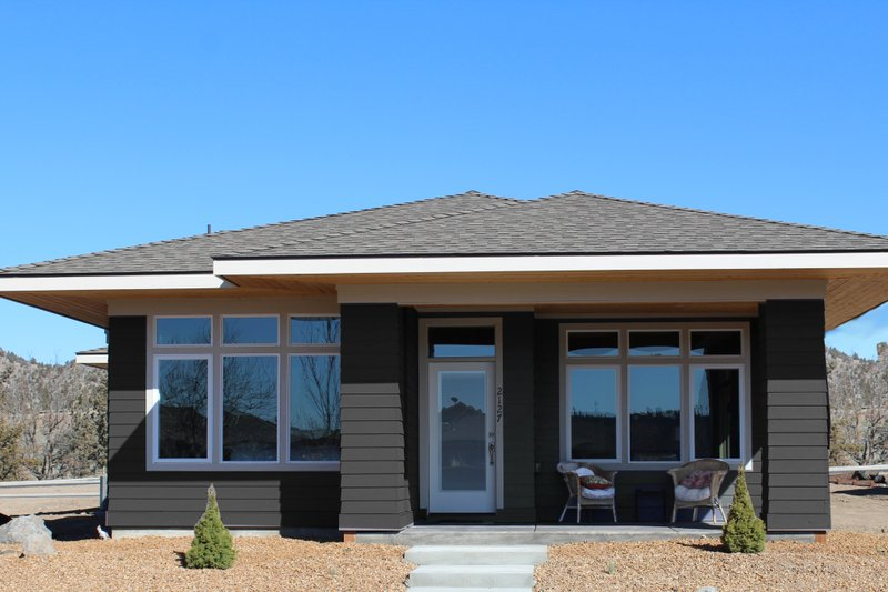Home Plan - Prairie Exterior - Front Elevation Plan #895-119