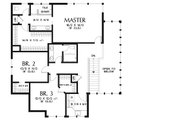 Modern Style House Plan - 3 Beds 2.5 Baths 2710 Sq/Ft Plan #48-938 Floor Plan - Upper Floor Plan