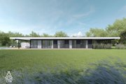 Modern Style House Plan - 3 Beds 2 Baths 1495 Sq/Ft Plan #552-7