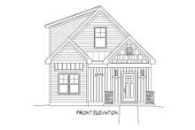 Country Exterior - Front Elevation Plan #932-20