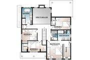 Farmhouse Style House Plan - 4 Beds 2.5 Baths 2496 Sq/Ft Plan #23-2725 Floor Plan - Upper Floor Plan