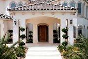 Mediterranean Style House Plan - 6 Beds 6.5 Baths 7572 Sq/Ft Plan #1-940
