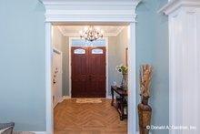 Home Plan - Ranch Interior - Entry Plan #929-1050